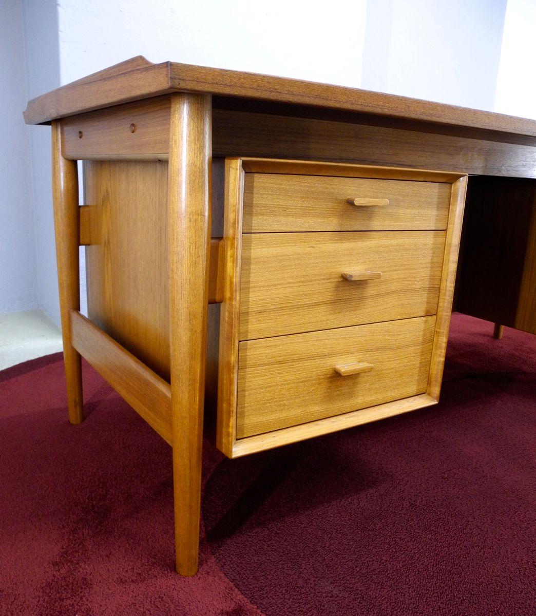 Teak Executive Desk By Arne Vodder For Sibast Furniture