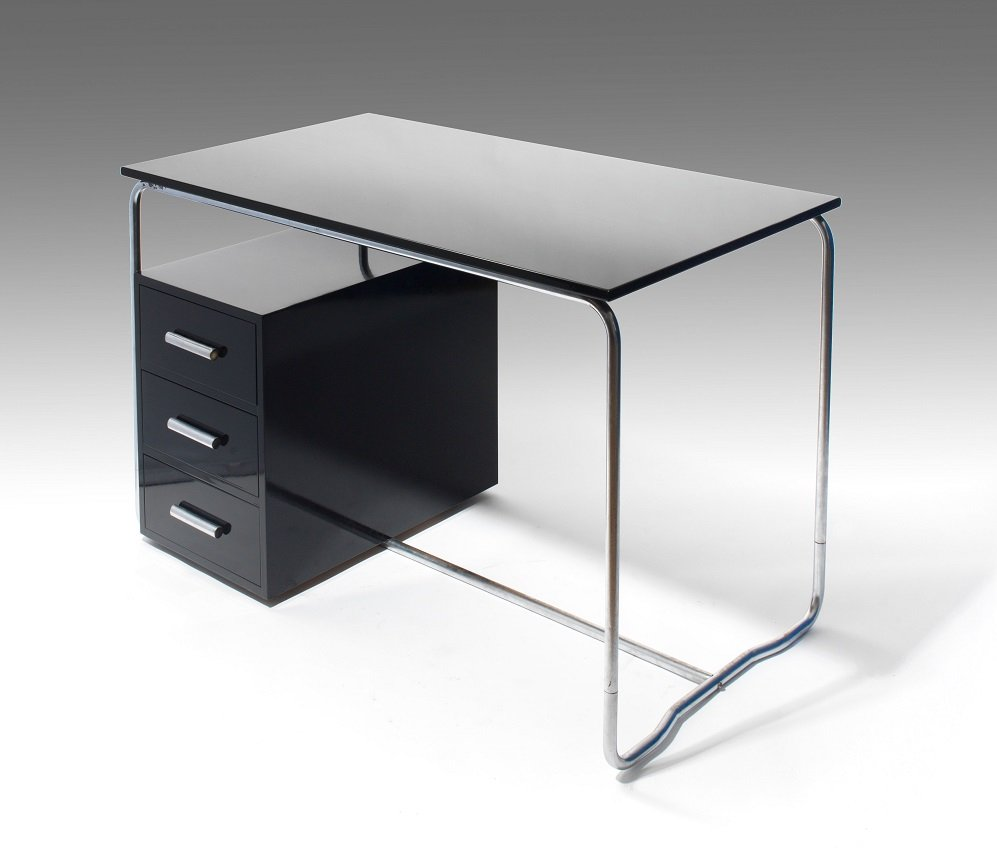 desk by marcel breuer for thonet 1930s for sale at pamono. Black Bedroom Furniture Sets. Home Design Ideas