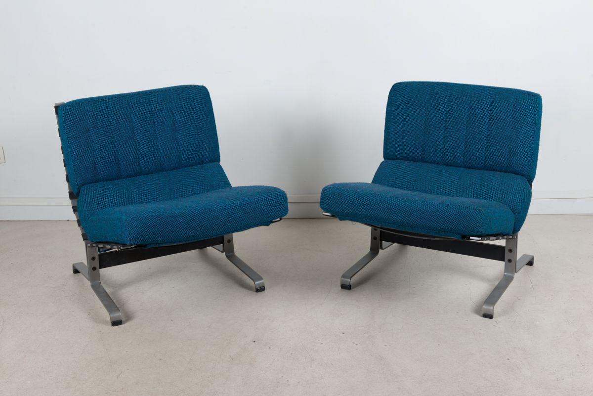 vintage chairs by etienne fermigier for meuble et fonction