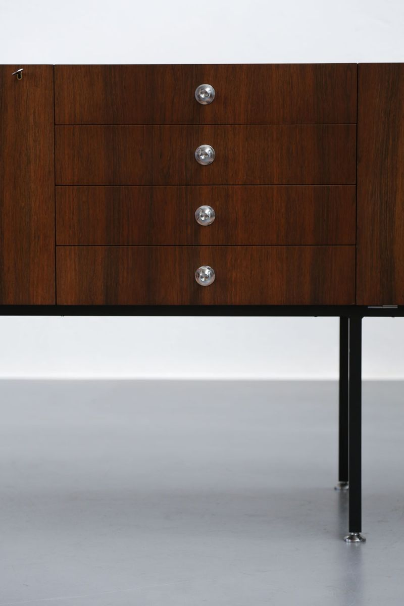 vintage french sideboard by alain richard for meubles tv