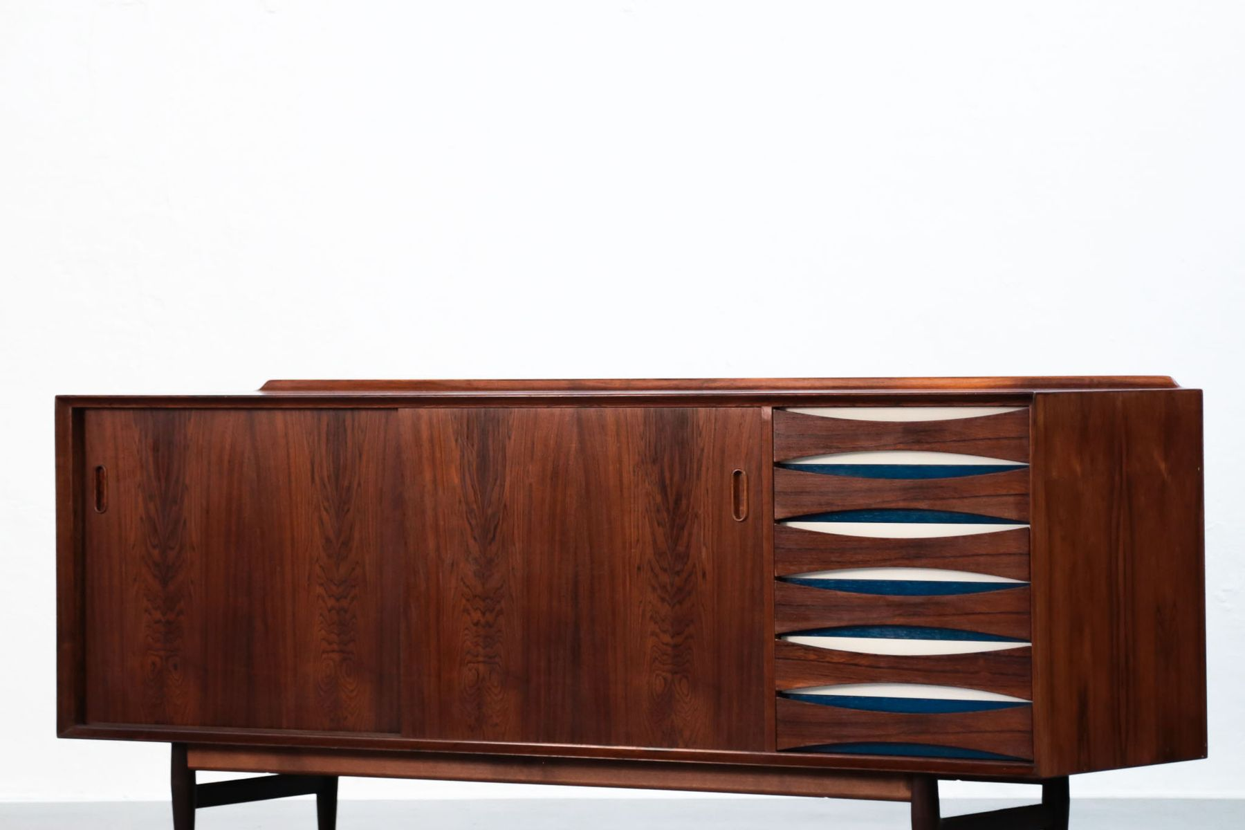 d nisches vintage sideboard von arne vodder f r sibast bei. Black Bedroom Furniture Sets. Home Design Ideas