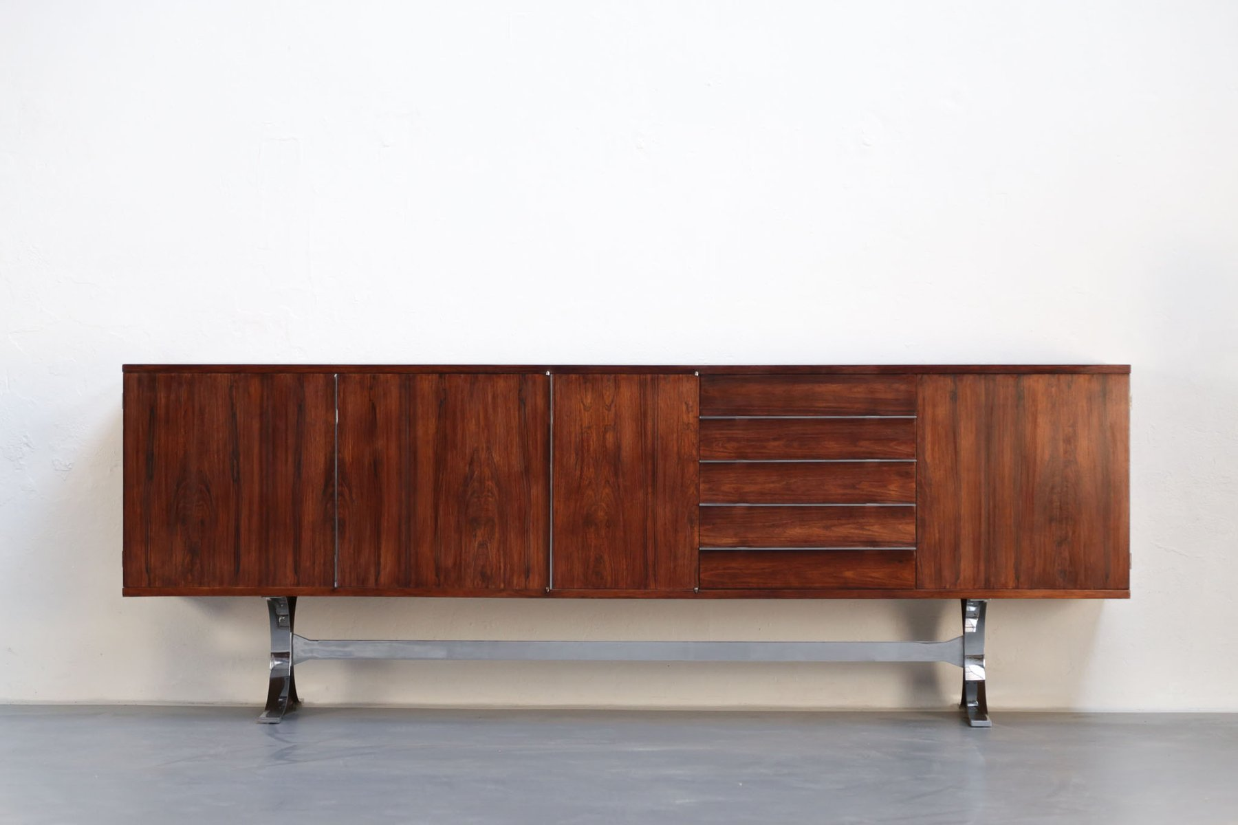 French silvie sideboard by jean ren caillette for charron for Sideboard x7