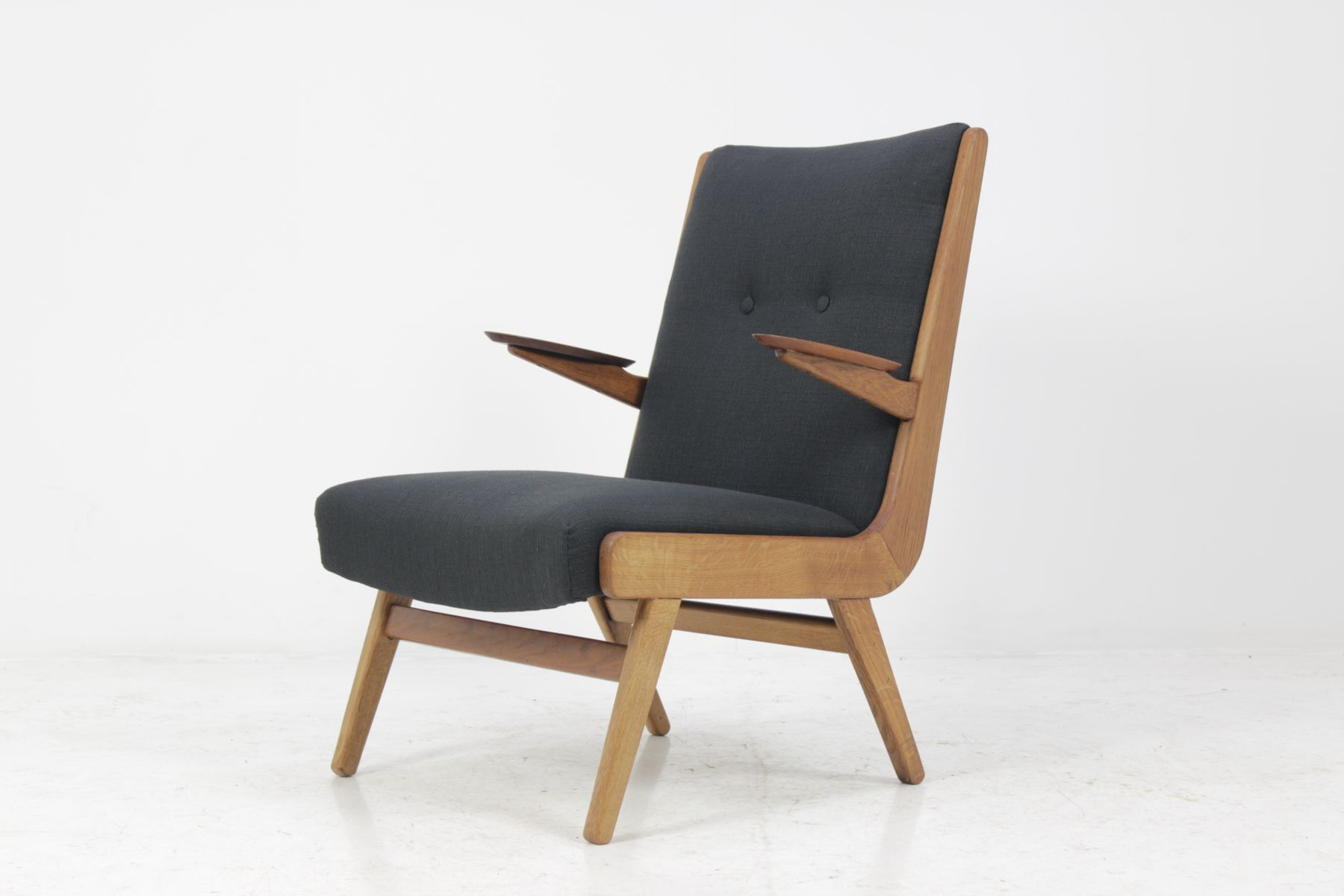 Danish Teak Easy Chair 1960s for sale at Pamono