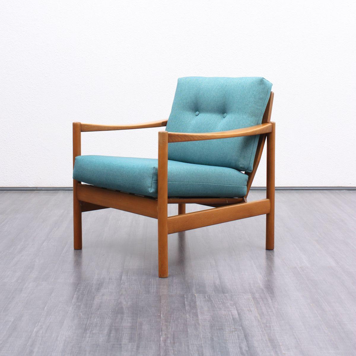 Sessel aus massiver buche 1960er bei pamono kaufen for Suche sessel