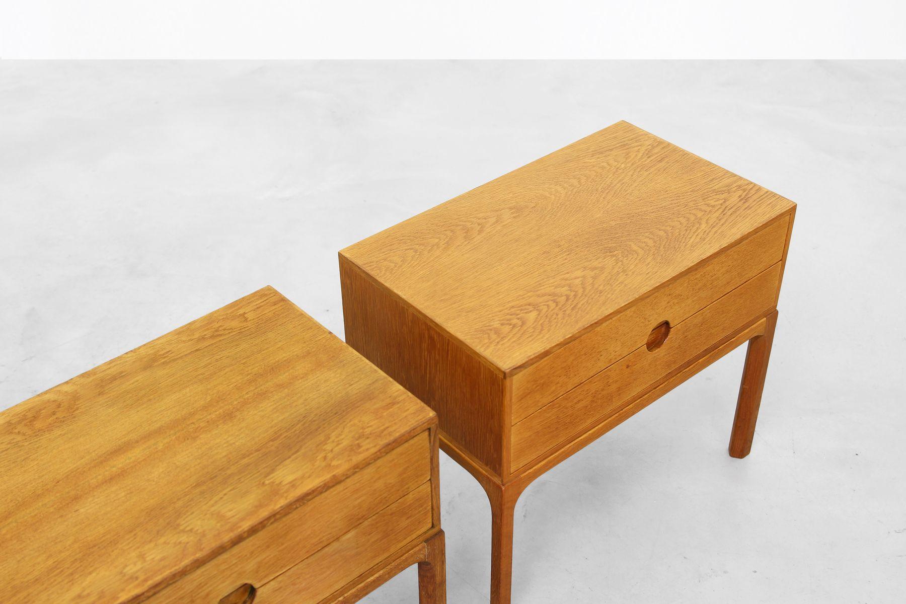 vintage schr nke von aksel kjersgaard f r odder m bler. Black Bedroom Furniture Sets. Home Design Ideas