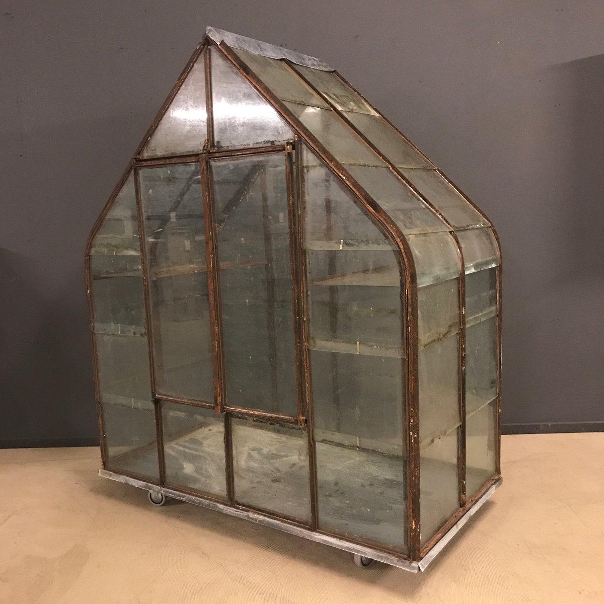 kleines franz sisches gew chshaus 1920er bei pamono kaufen. Black Bedroom Furniture Sets. Home Design Ideas