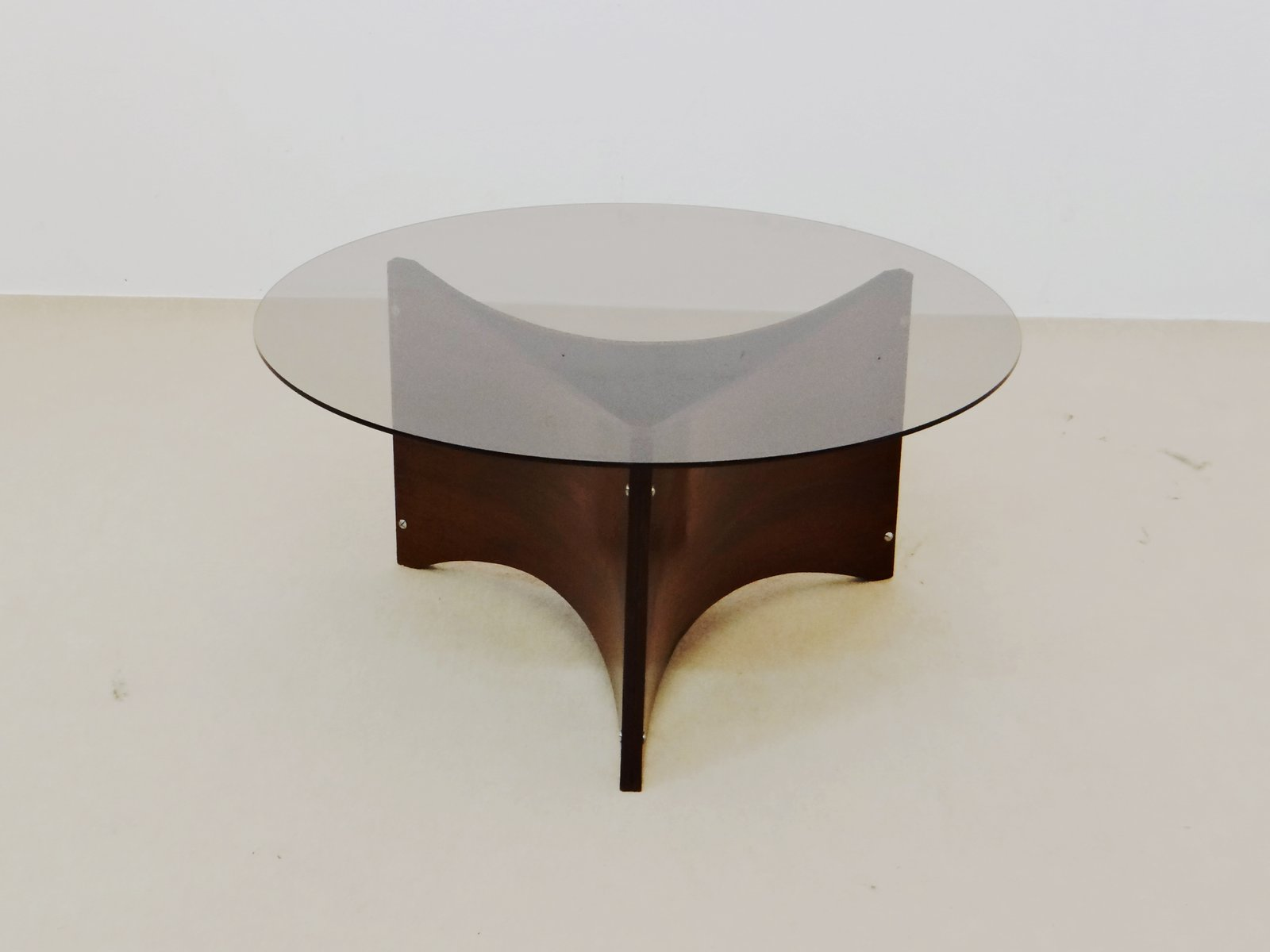 midcentury space age coffee table