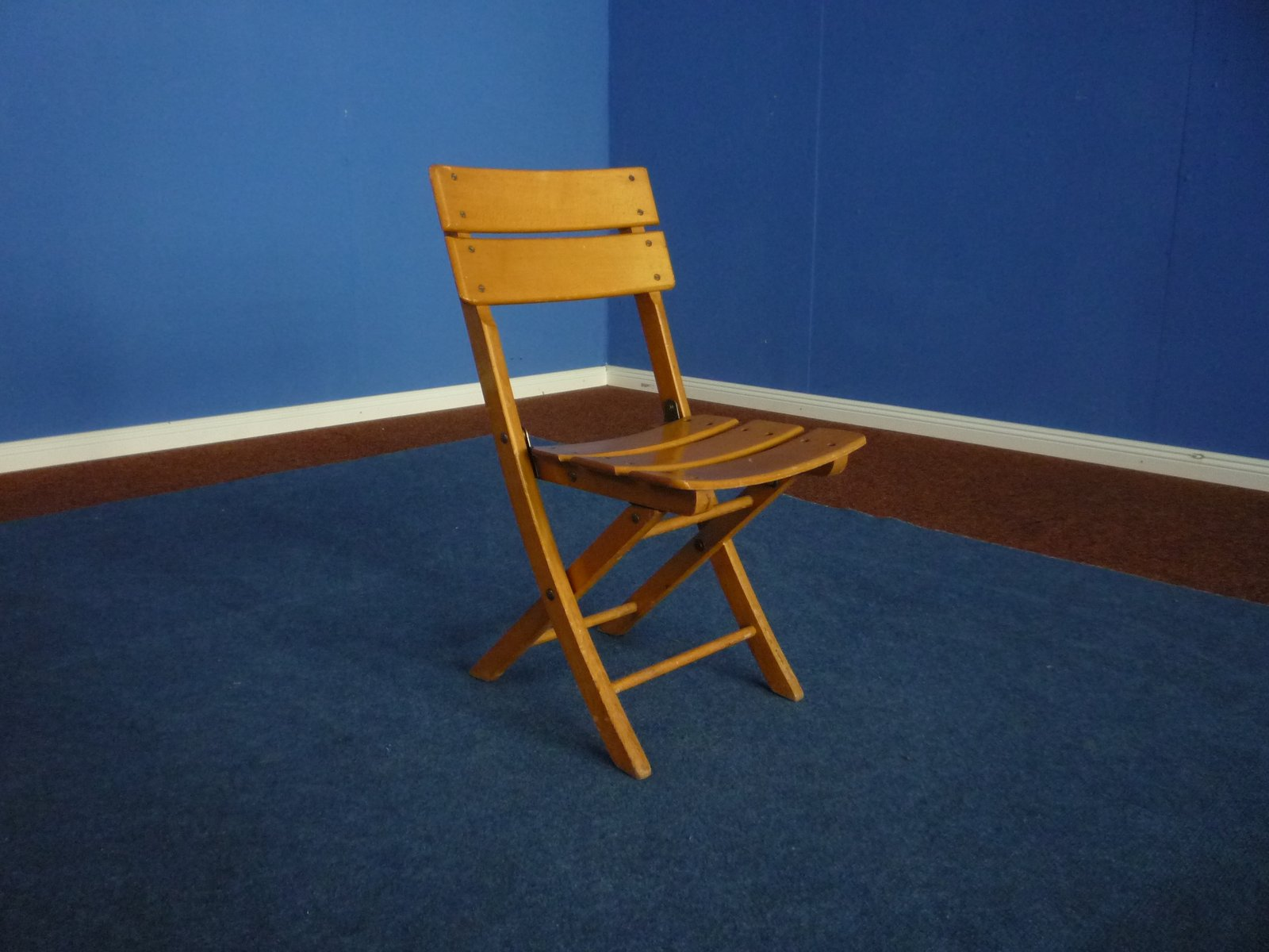 Childrens Folding Chair from Herlag 1940s for sale at Pamono
