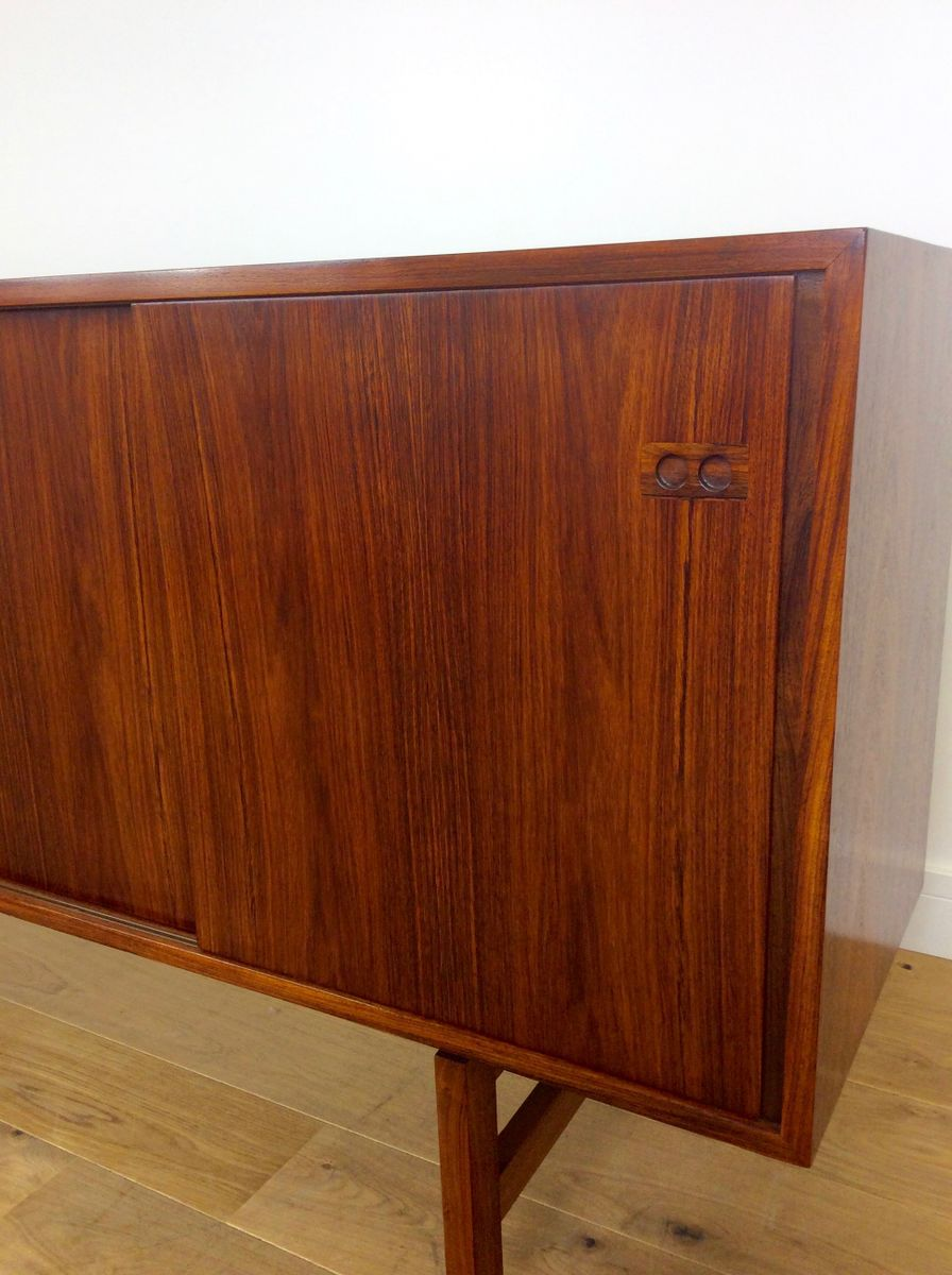 mid century palisander sideboard bei pamono kaufen. Black Bedroom Furniture Sets. Home Design Ideas