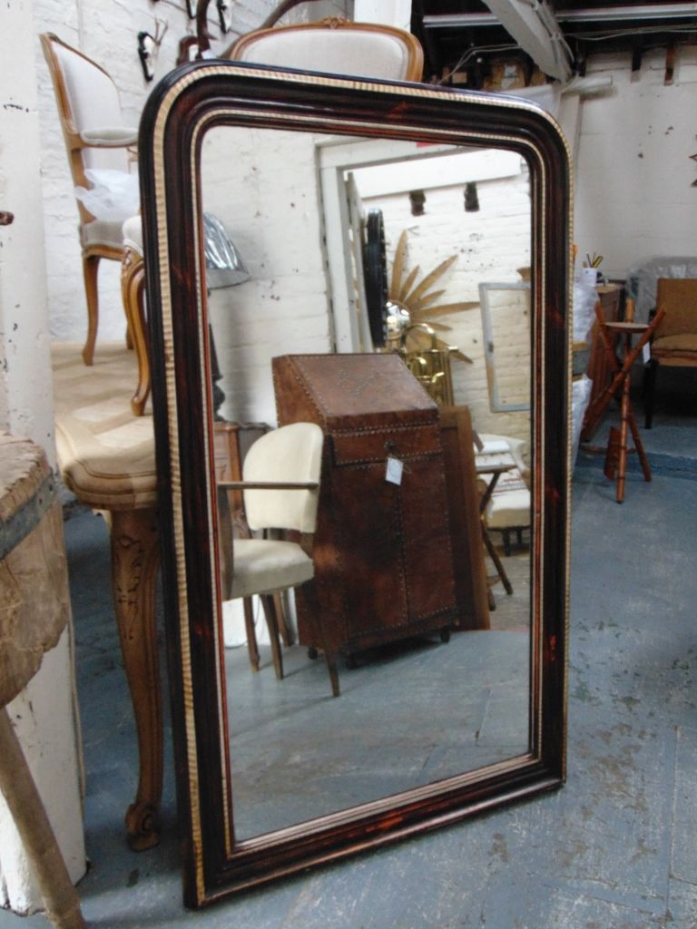 antique mercury glass wall mirror for sale at pamono. Black Bedroom Furniture Sets. Home Design Ideas