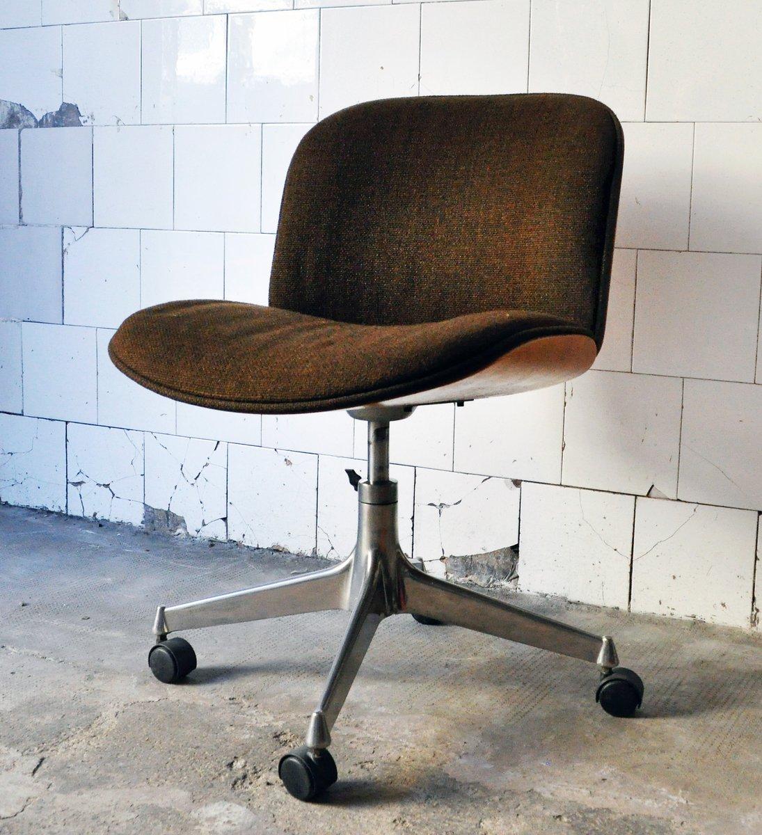 Sedie da ufficio mid century di ico parisi per mim design for Sedie da ufficio design