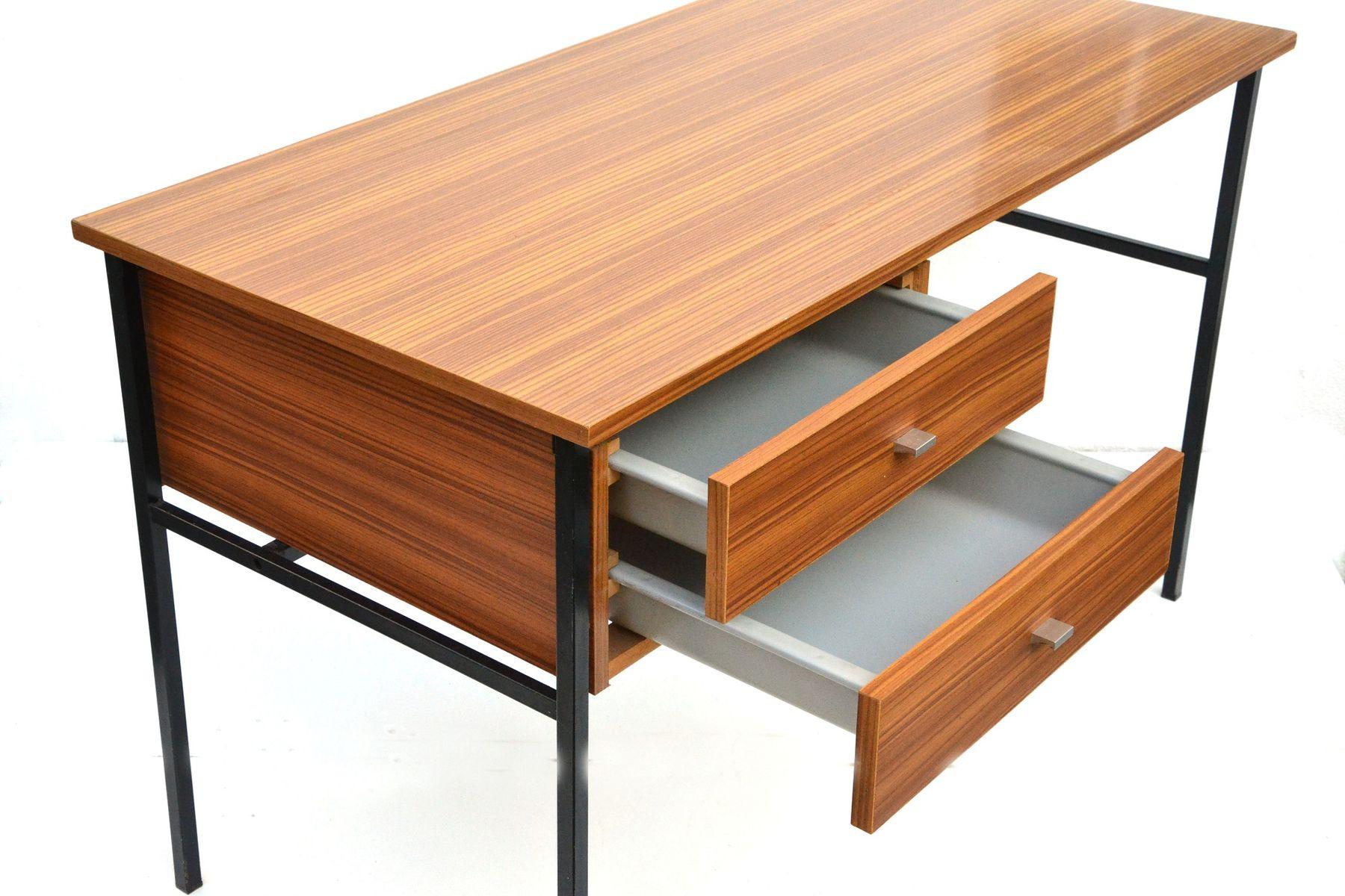 etudiant schreibtisch von pierre guariche f r meurop bei pamono kaufen. Black Bedroom Furniture Sets. Home Design Ideas