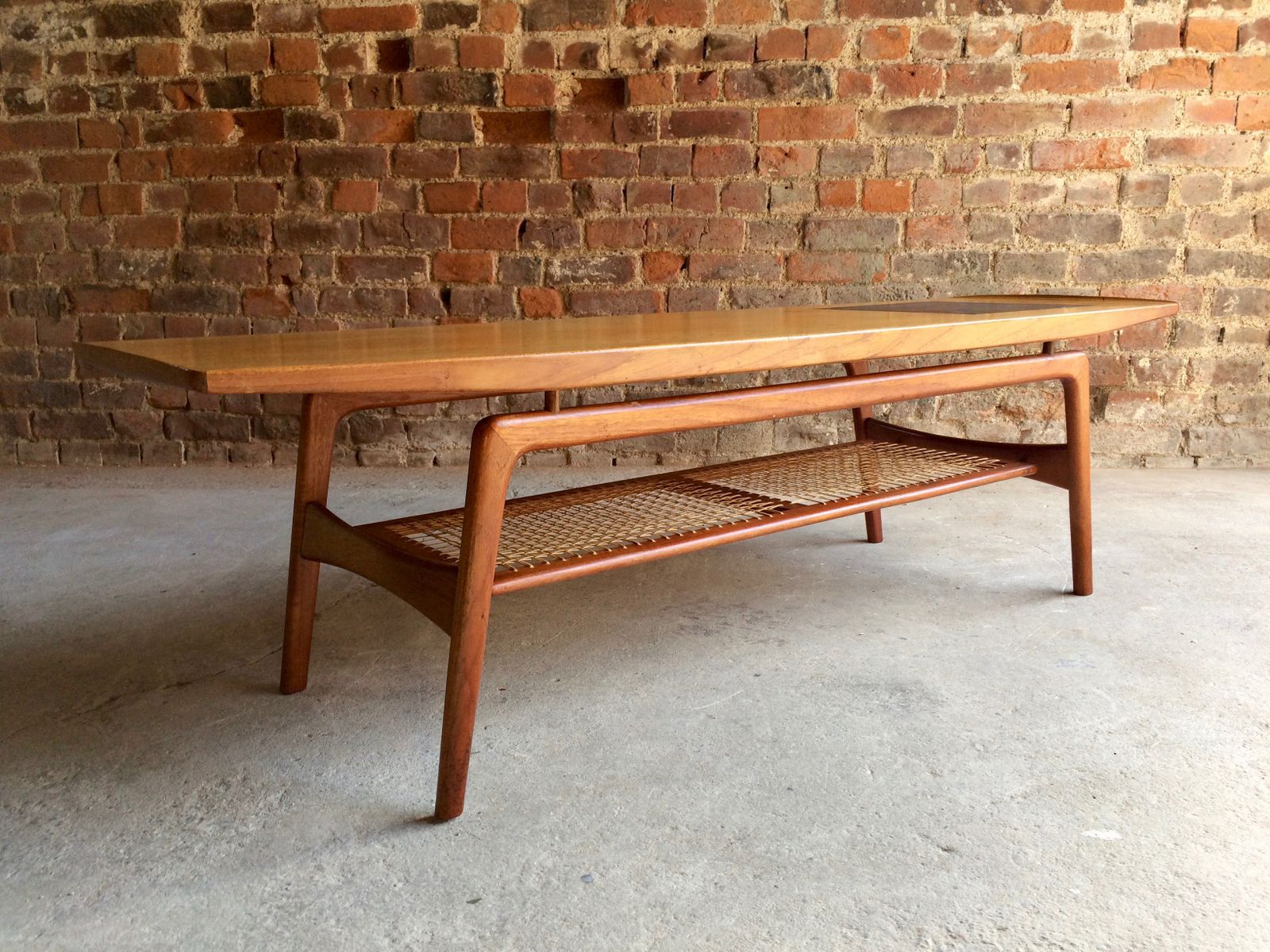 Teak Coffee Table By Arne Hovmand Olsen For Mogens Kold Mobelfabrik, 1950s
