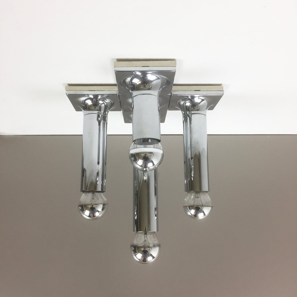 Tube ceiling lights by rolf krger for staff 1970s for sale at pamono aloadofball Choice Image