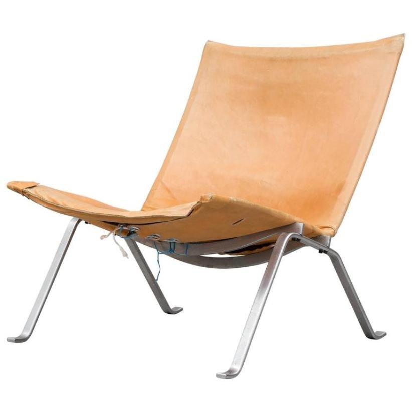 PK 22 Lounge Chair By Poul Kjaerholm For E. Kold Christensen, 1956