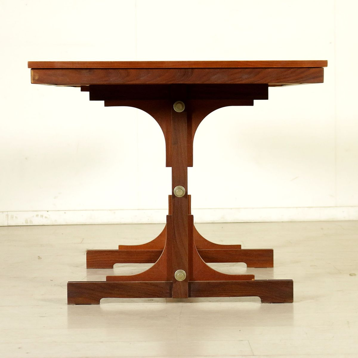 Italian Teak Veneer amp Solid Wood Extendable Dining Table  : italian teak veneer solid wood extendable dining table 1960s 15 from www.pamono.co.uk size 1200 x 1200 jpeg 66kB