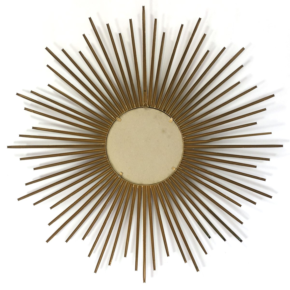 French sun shaped mirror from chaty vallauris 1950s for - Point p vallauris ...