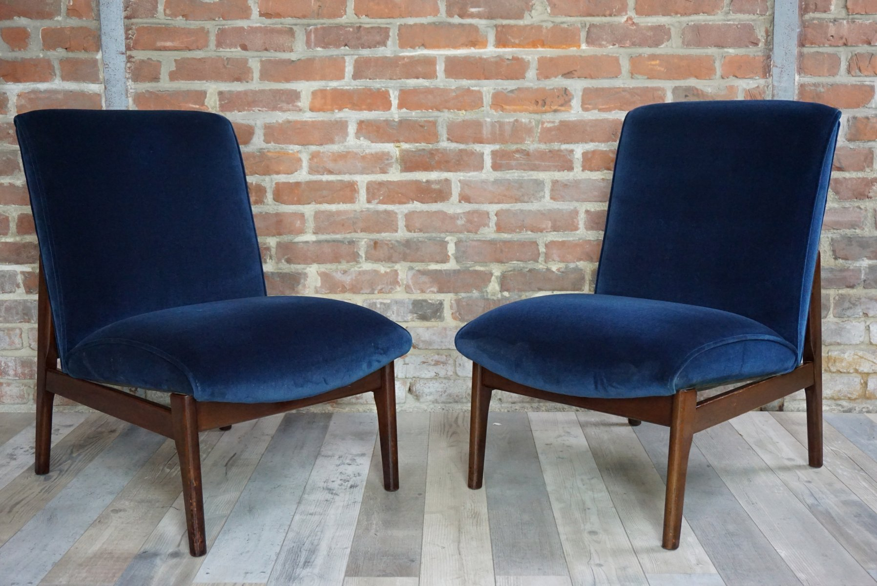 armchairs from parker knoll 1950s set of 2 for sale at. Black Bedroom Furniture Sets. Home Design Ideas