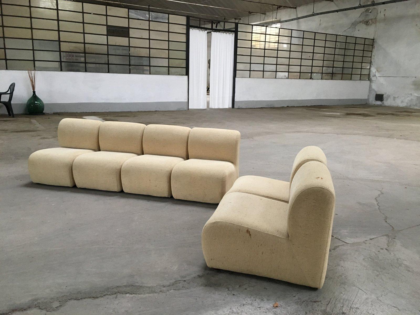 Modulares italienisches sofa 1970er bei pamono kaufen for Sofas modulares