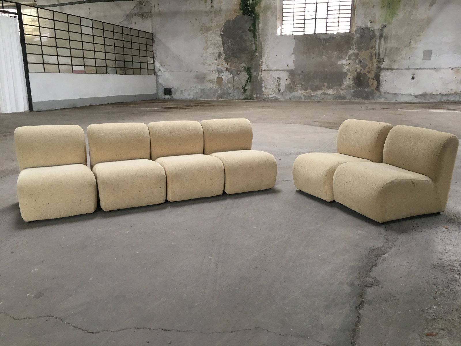 Italian Modular Sofa, 1970s for sale at Pamono