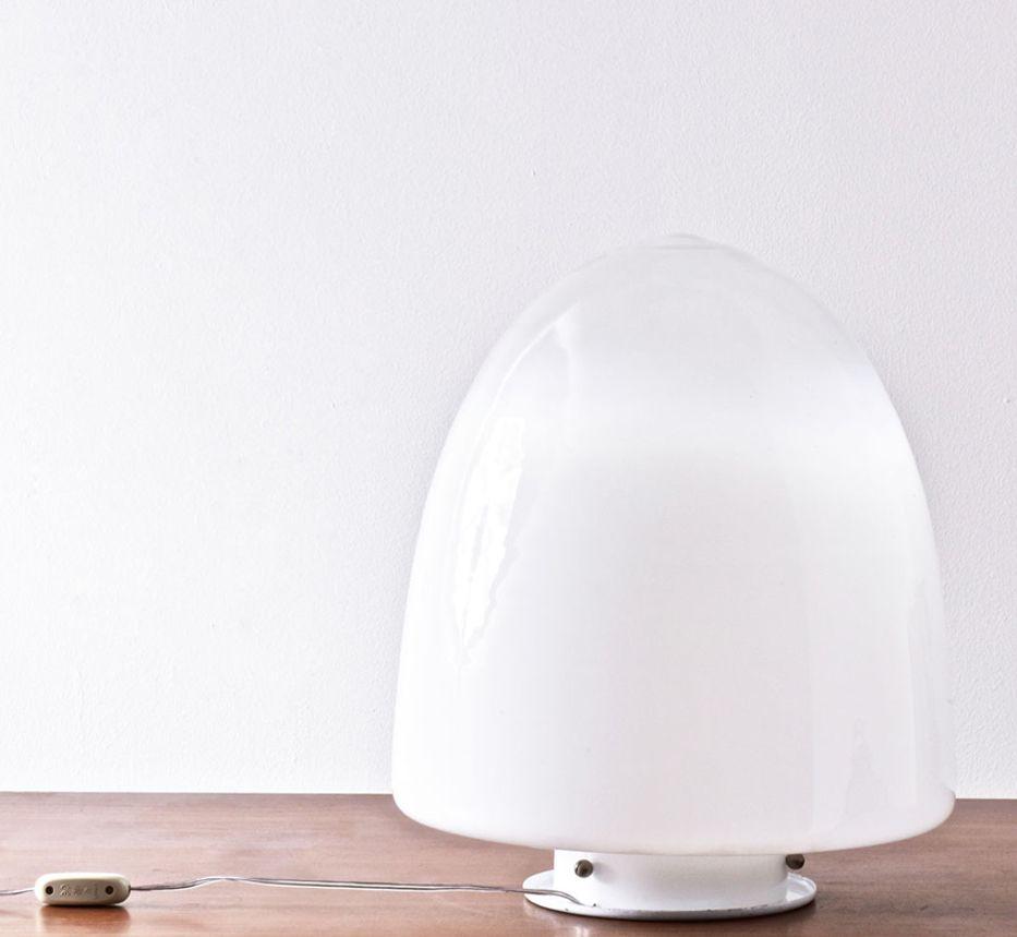 italienische tischlampe aus murano glas 1970er bei pamono kaufen. Black Bedroom Furniture Sets. Home Design Ideas