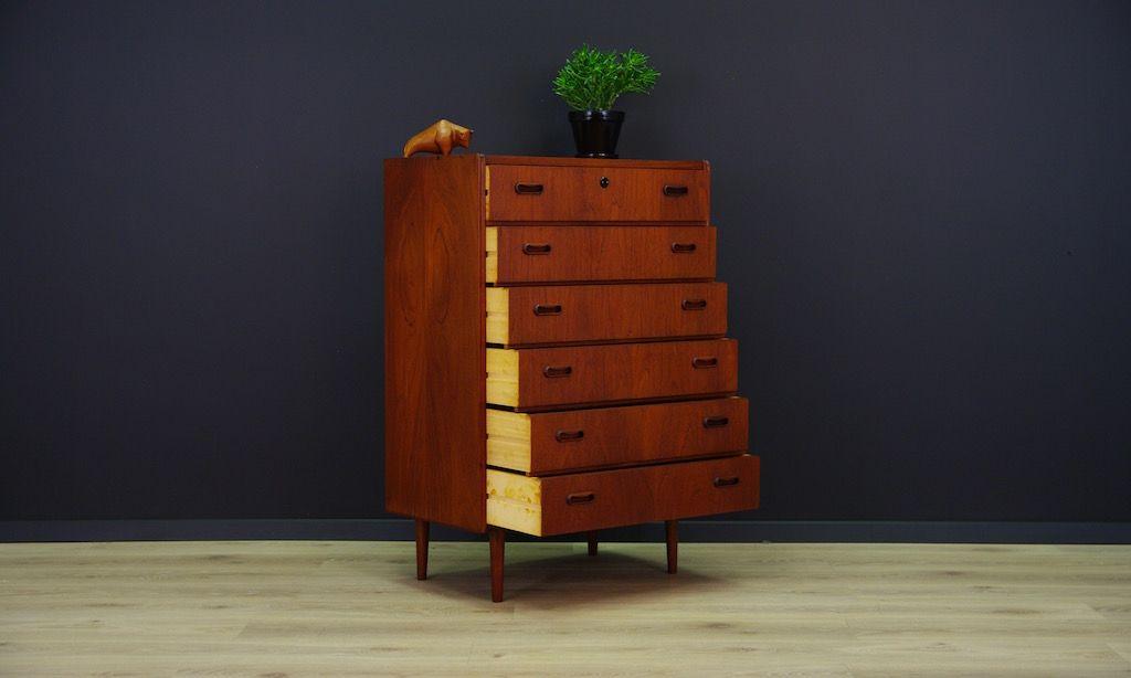 skandinavische vintage kommode bei pamono kaufen. Black Bedroom Furniture Sets. Home Design Ideas