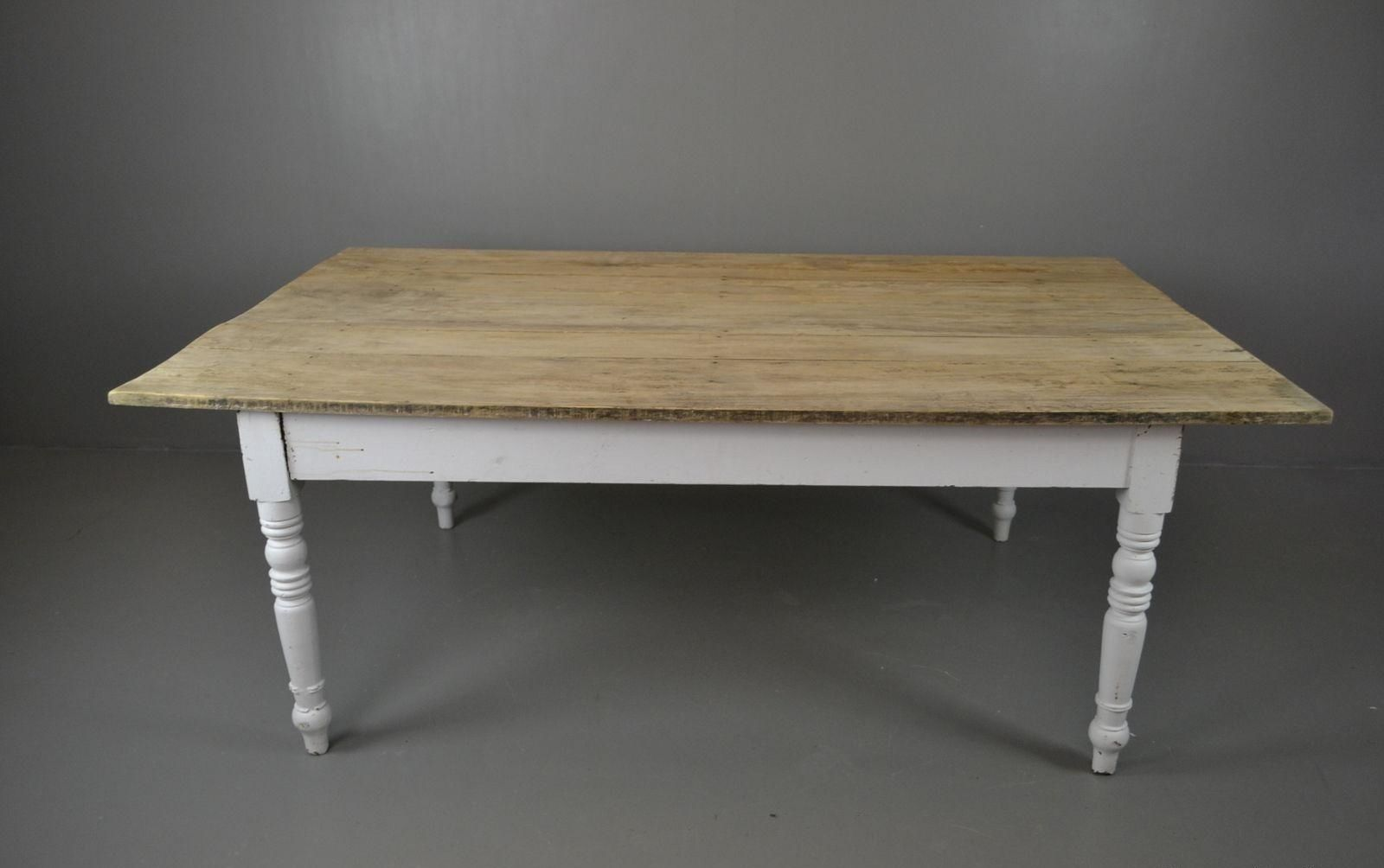 Vintage Farmhouse Dining Table for sale at Pamono : vintage farmhouse dining table 1 from www.pamono.co.uk size 1600 x 1004 jpeg 77kB