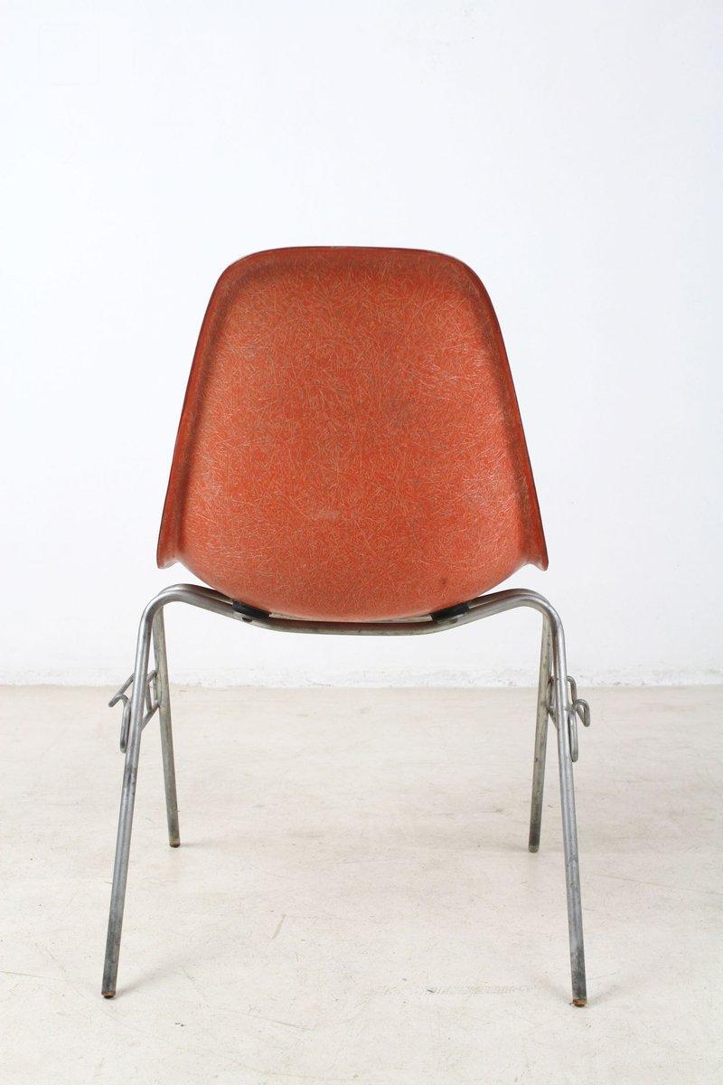 vintage dsx glasfaser stuhl von charles ray eames f r herman miller bei pamono kaufen. Black Bedroom Furniture Sets. Home Design Ideas