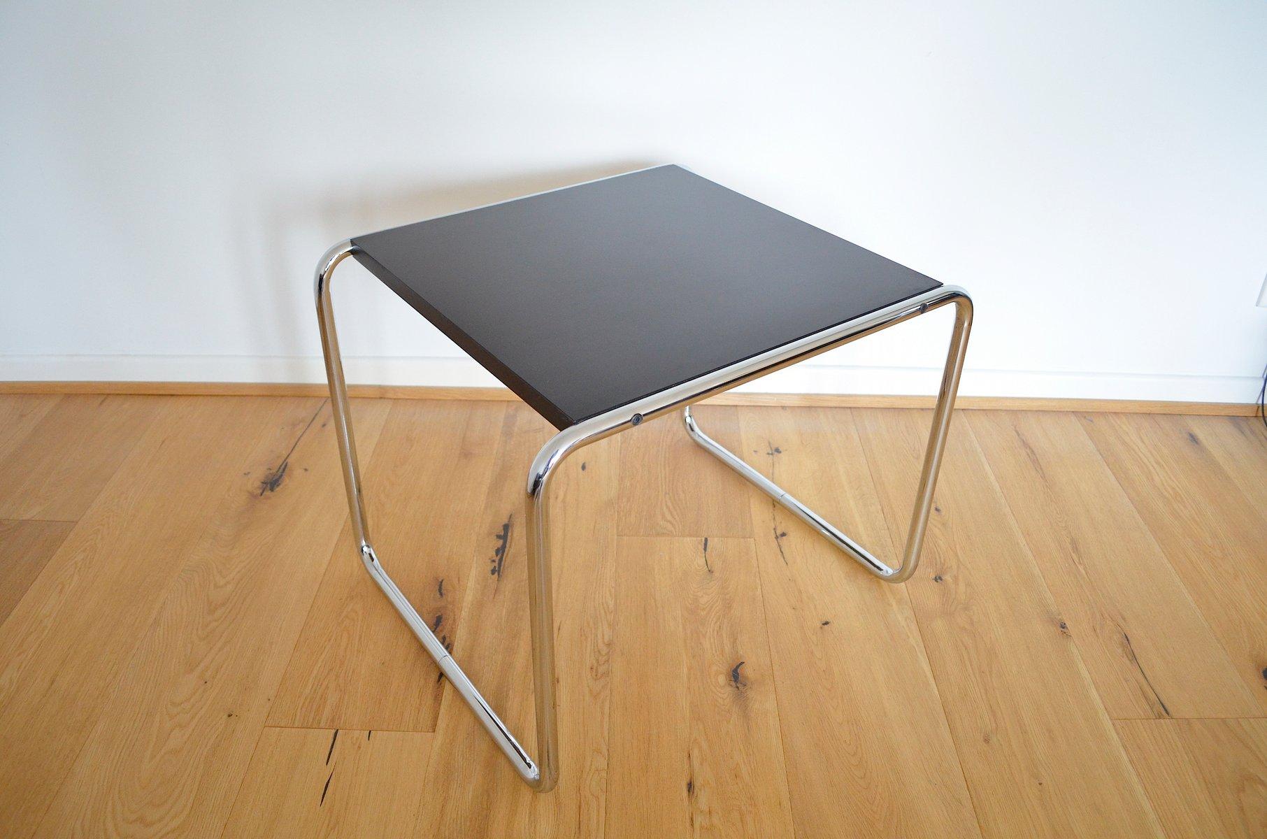 Bauhaus Side Table By Marcel Breuer For Gavina