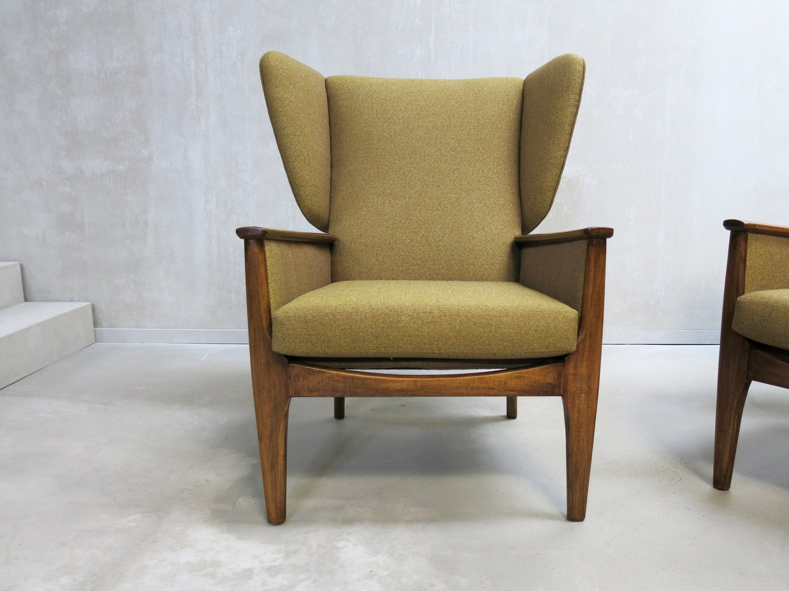 Vintage Wingback Chairs from Parker Knoll 1960s Set of 2 for
