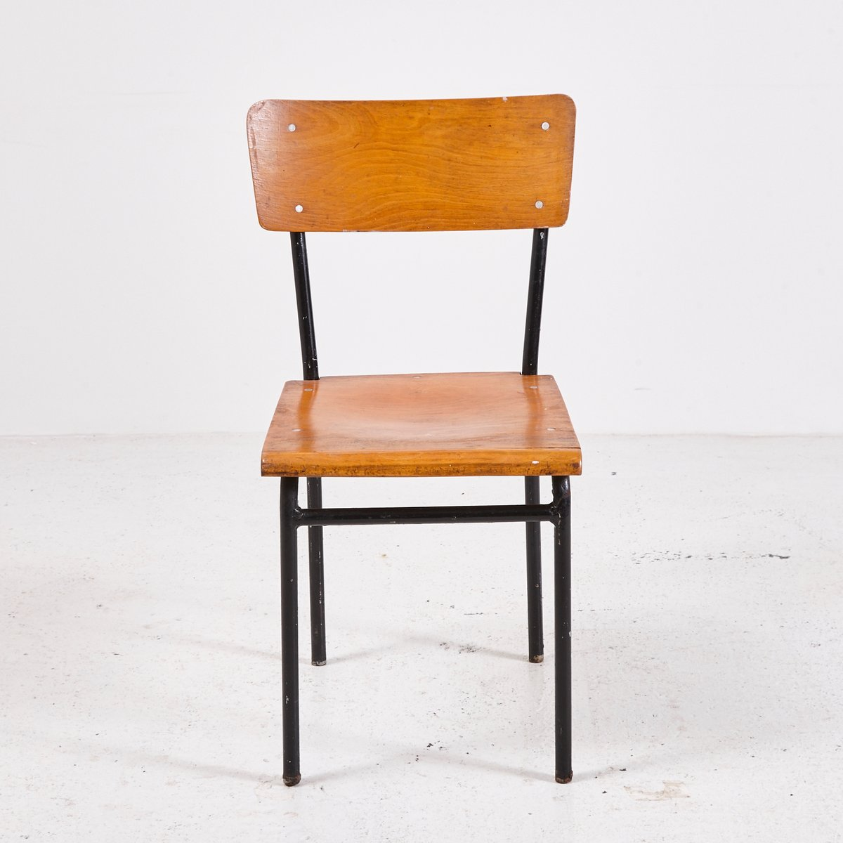 Vintage minimal industrial side chair for sale at pamono for Side chairs for sale