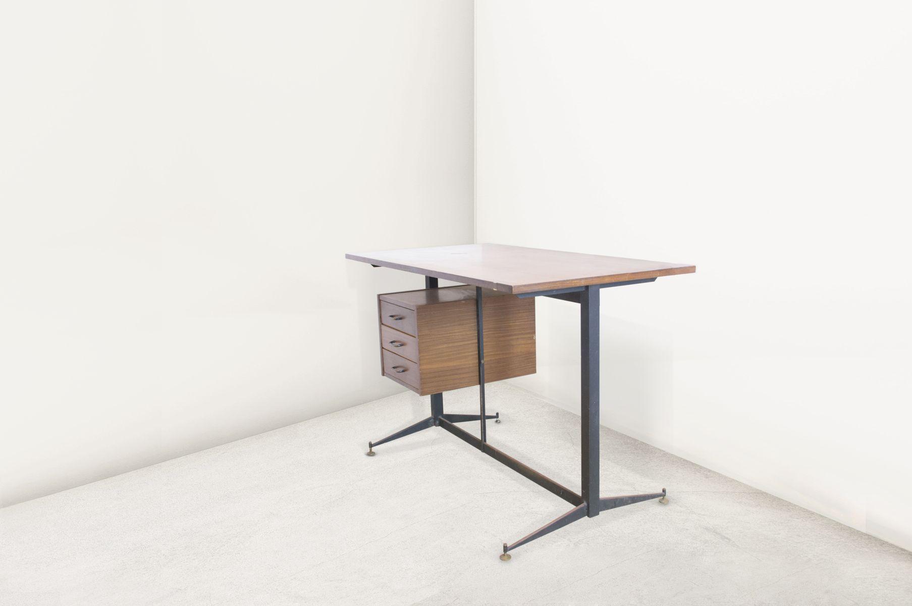 italienischer mid century schreibtisch 1940er bei pamono kaufen. Black Bedroom Furniture Sets. Home Design Ideas