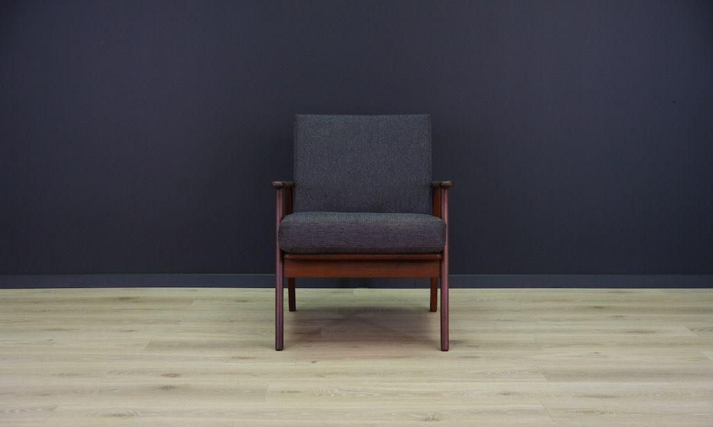 mid century teak sessel bei pamono kaufen. Black Bedroom Furniture Sets. Home Design Ideas