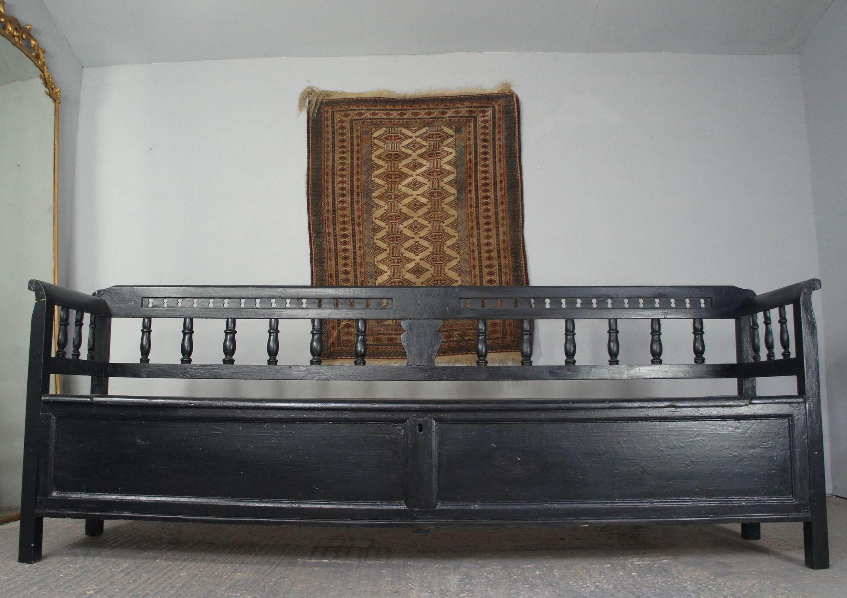 Large Antique Painted Pine Storage Bench 7. $2,900.00. Price Per Piece
