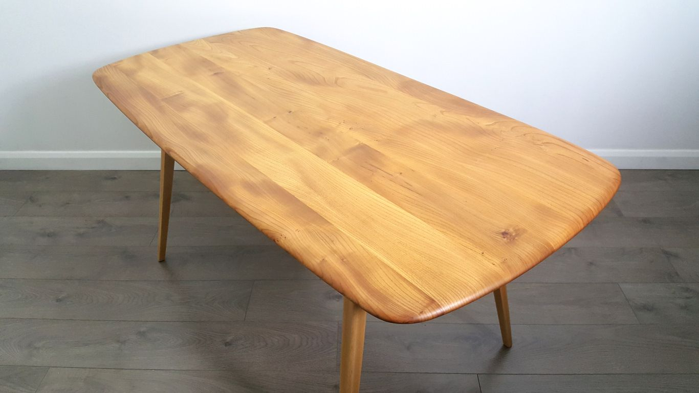 Vintage Plank Dining Table by Lucian Ercolani for Ercol  : vintage plank dining table by lucian ercolani for ercol 5 from www.pamono.co.uk size 1366 x 768 jpeg 79kB