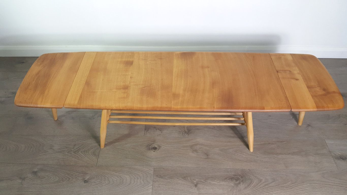 Extendable Coffee Table By Lucian Ercolani For Ercol 1960s For Sale At Pamono