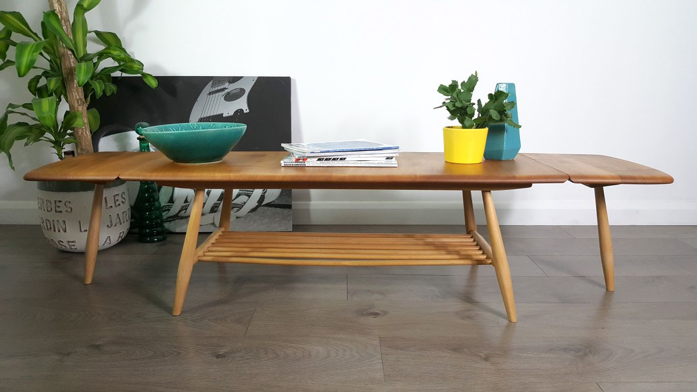 Extendable Coffee Table extendable coffee tablelucian ercolani for ercol, 1960s for