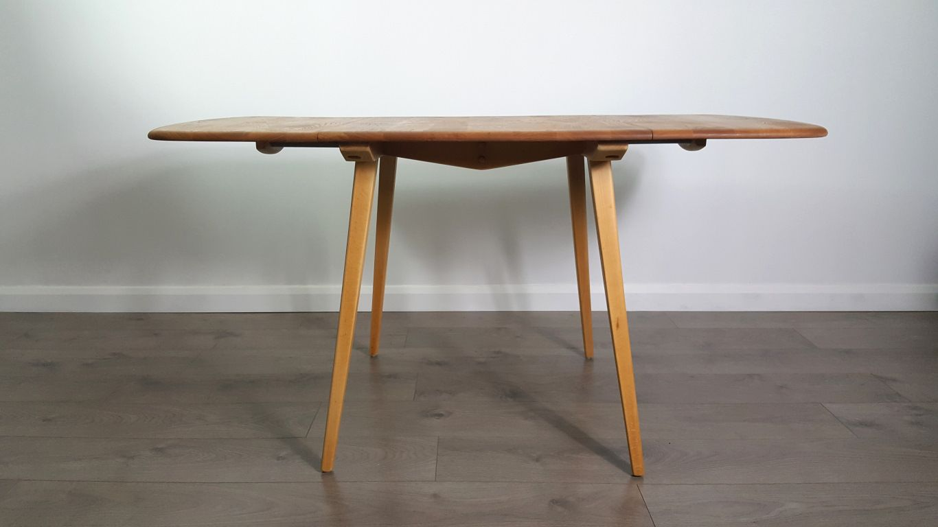 Ercol Drop Leaf Dining Table Retro Ercol Elm Circular  : drop leaf dining table by lucian ercolani for ercol 1 from diydesign.org size 1366 x 768 jpeg 167kB