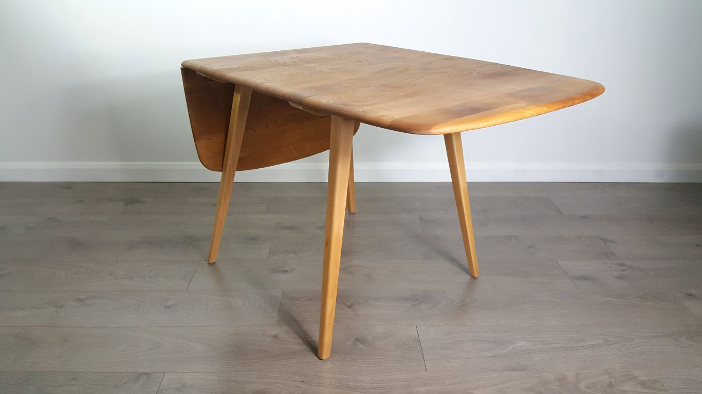 Ercol Drop Leaf Dining Table Retro Ercol Elm Circular  : drop leaf dining table by lucian ercolani for ercol 4 from diydesign.org size 1366 x 768 jpeg 195kB