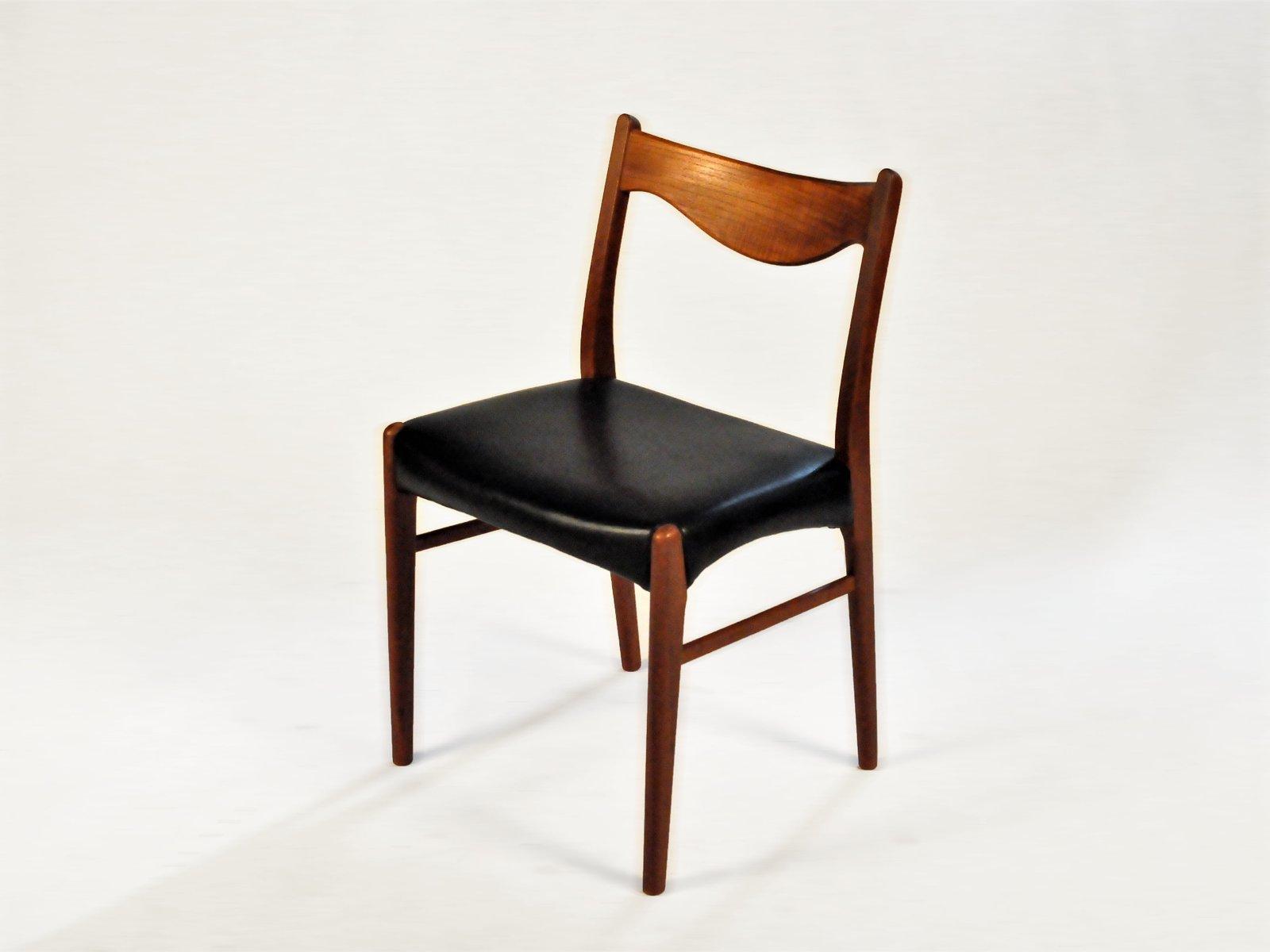 Teak Dining Chairs By Ejnar Larsen U0026 Axel Bender Madsen For Glyngøre  Stolefabrik, 1960s, Set Of 2