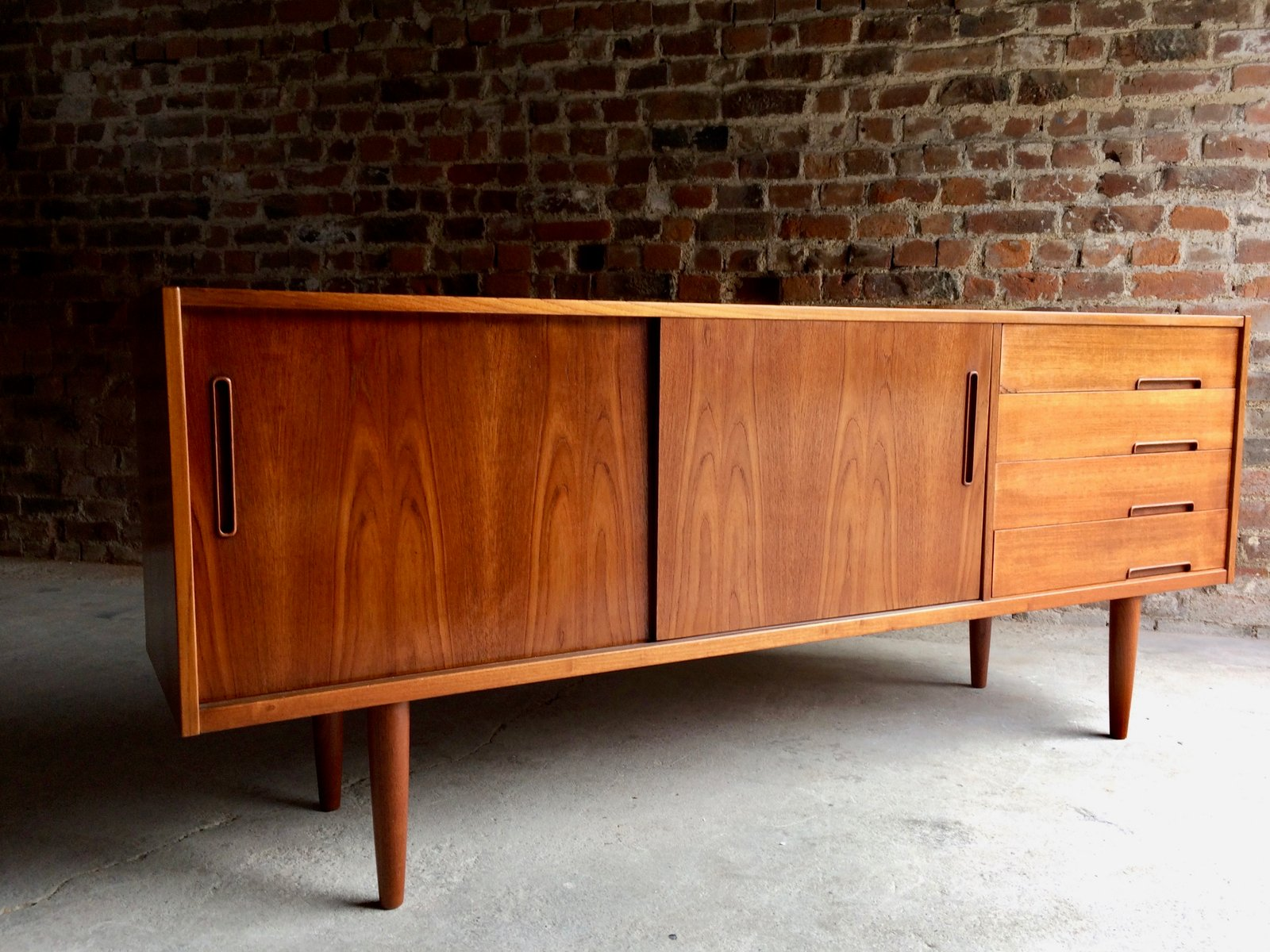 vintage trento teak sideboard by nils jonsson for troeds bj rnum for sale at pamono. Black Bedroom Furniture Sets. Home Design Ideas