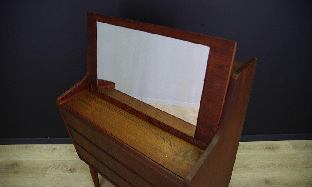 d nischer mid century sekret r mit teak furnier bei pamono kaufen. Black Bedroom Furniture Sets. Home Design Ideas