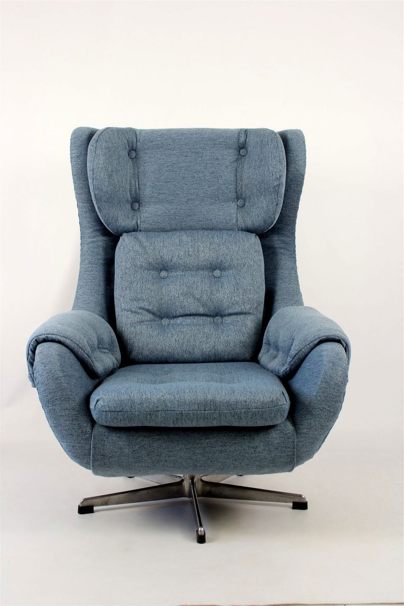 Swivel Armchair from UP Zavody Rousinov 1970s for sale at Pamono