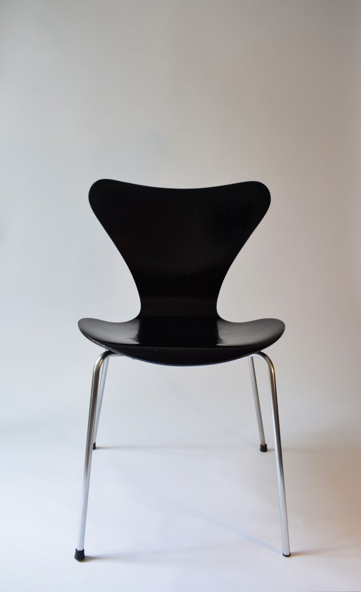 series 7 chair by arne jacobsen for fritz hansen 1966 for sale at pamono. Black Bedroom Furniture Sets. Home Design Ideas
