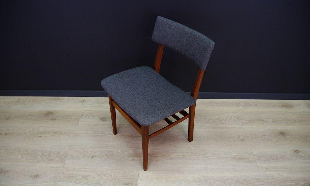 d nischer mid century stuhl aus buche bei pamono kaufen. Black Bedroom Furniture Sets. Home Design Ideas