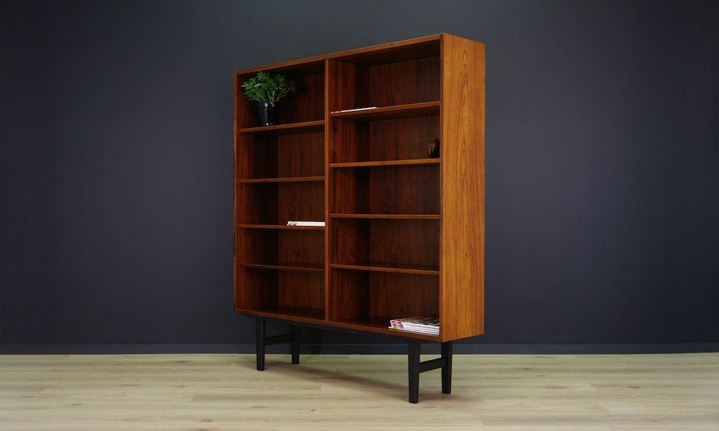 d nisches vintage regal mit palisander furnier von poul hundevad bei pamono kaufen. Black Bedroom Furniture Sets. Home Design Ideas