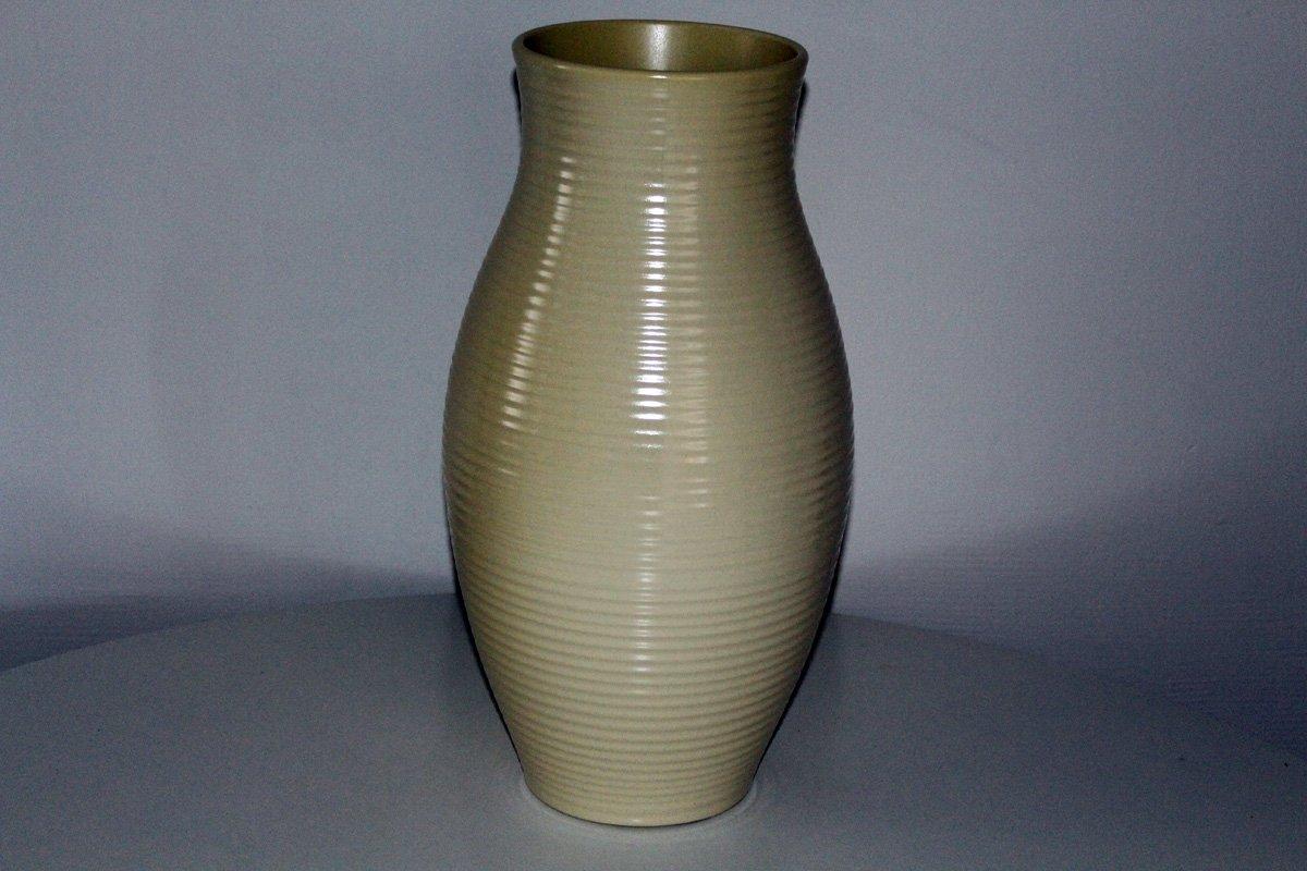 Vintage Large Ceramic Floor Vase From Gmundne Keramik For
