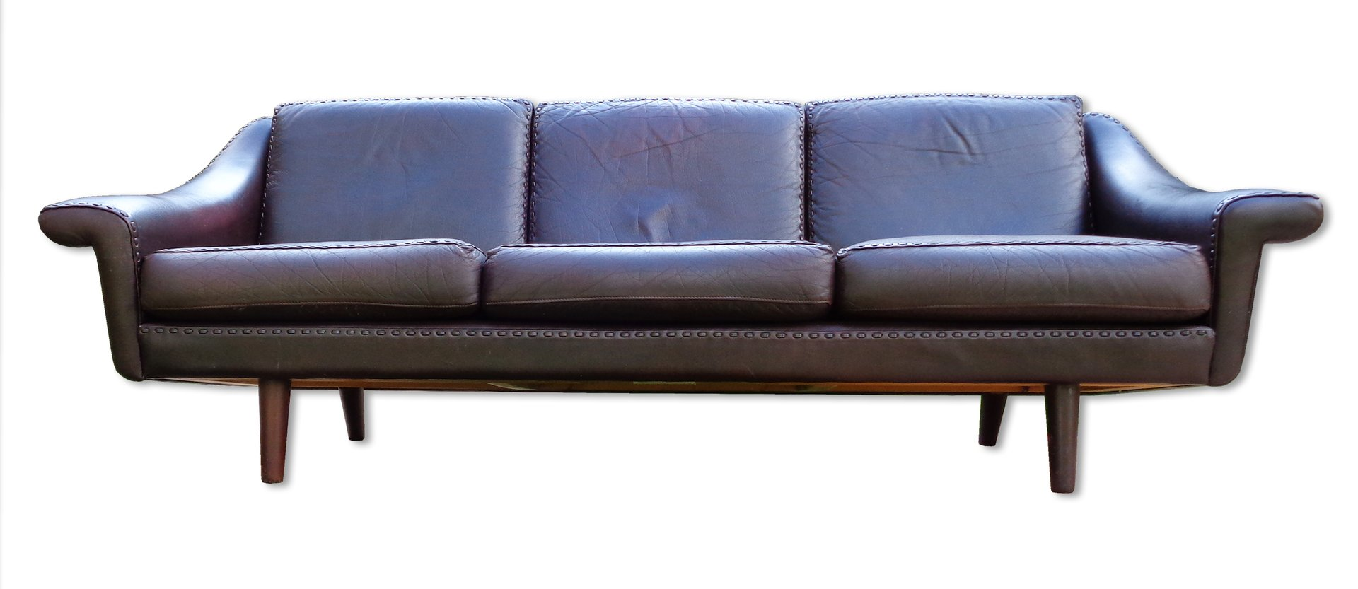 leather sofa from de sede 1960s for sale at pamono. Black Bedroom Furniture Sets. Home Design Ideas