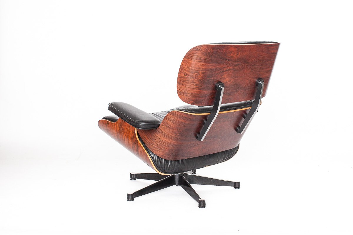 Fauteuil eames vintage par charles ray eames pour vitra for Fauteuil charles eames vitra