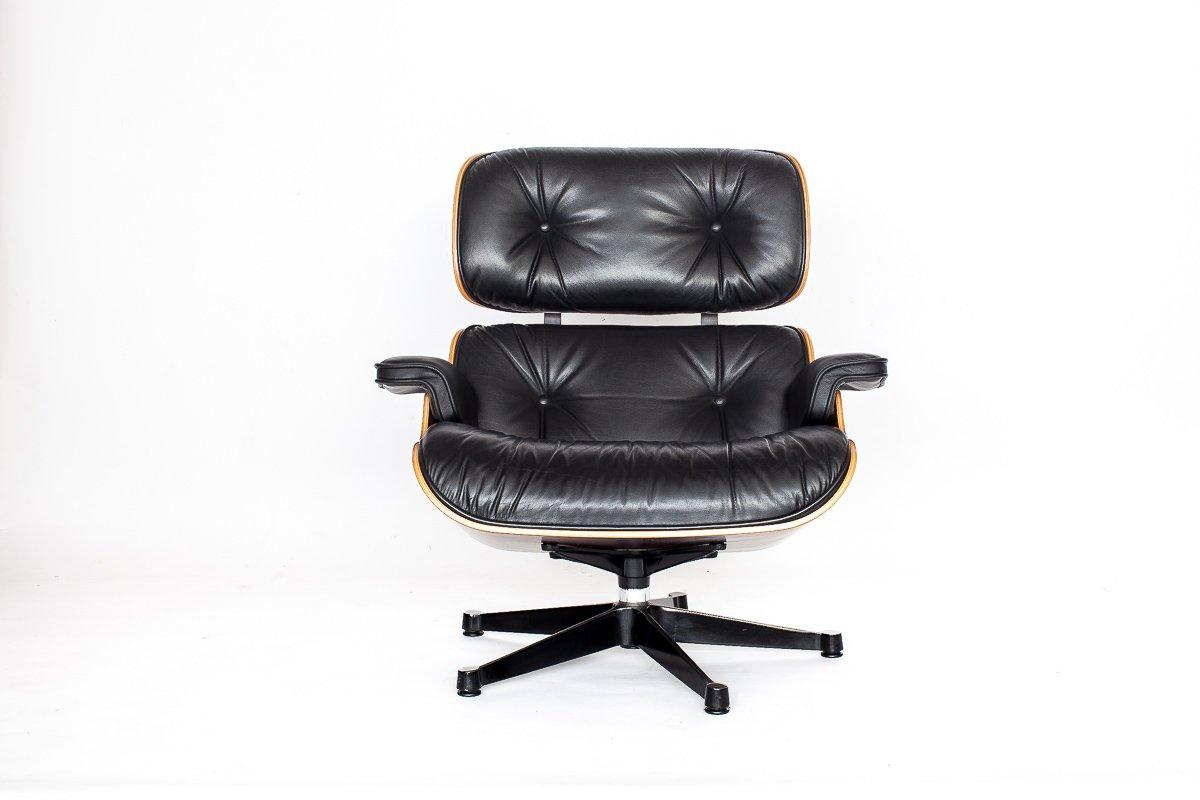 fauteuil eames vintage par charles ray eames pour vitra